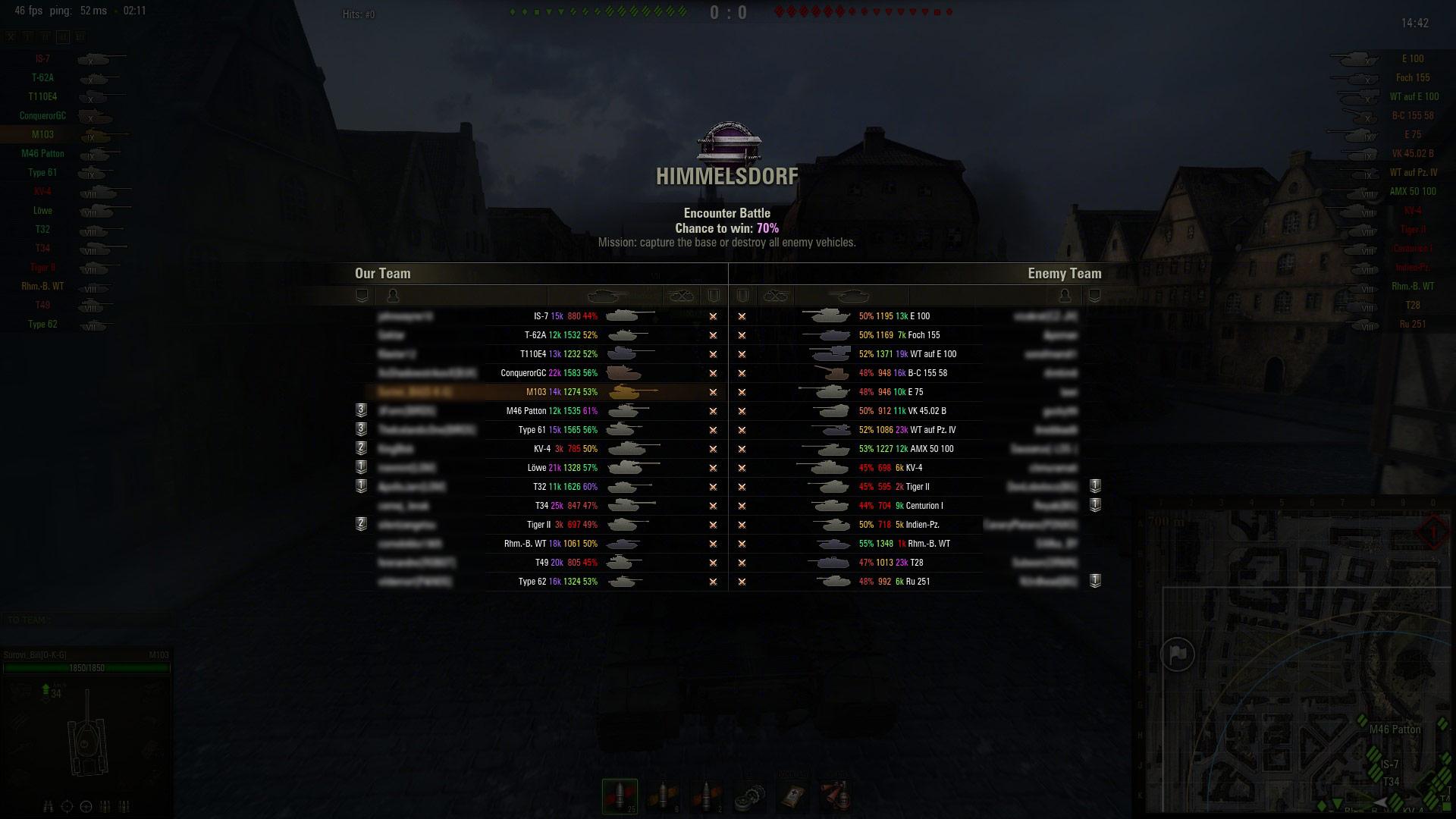 World of tanks stupid matchmaking