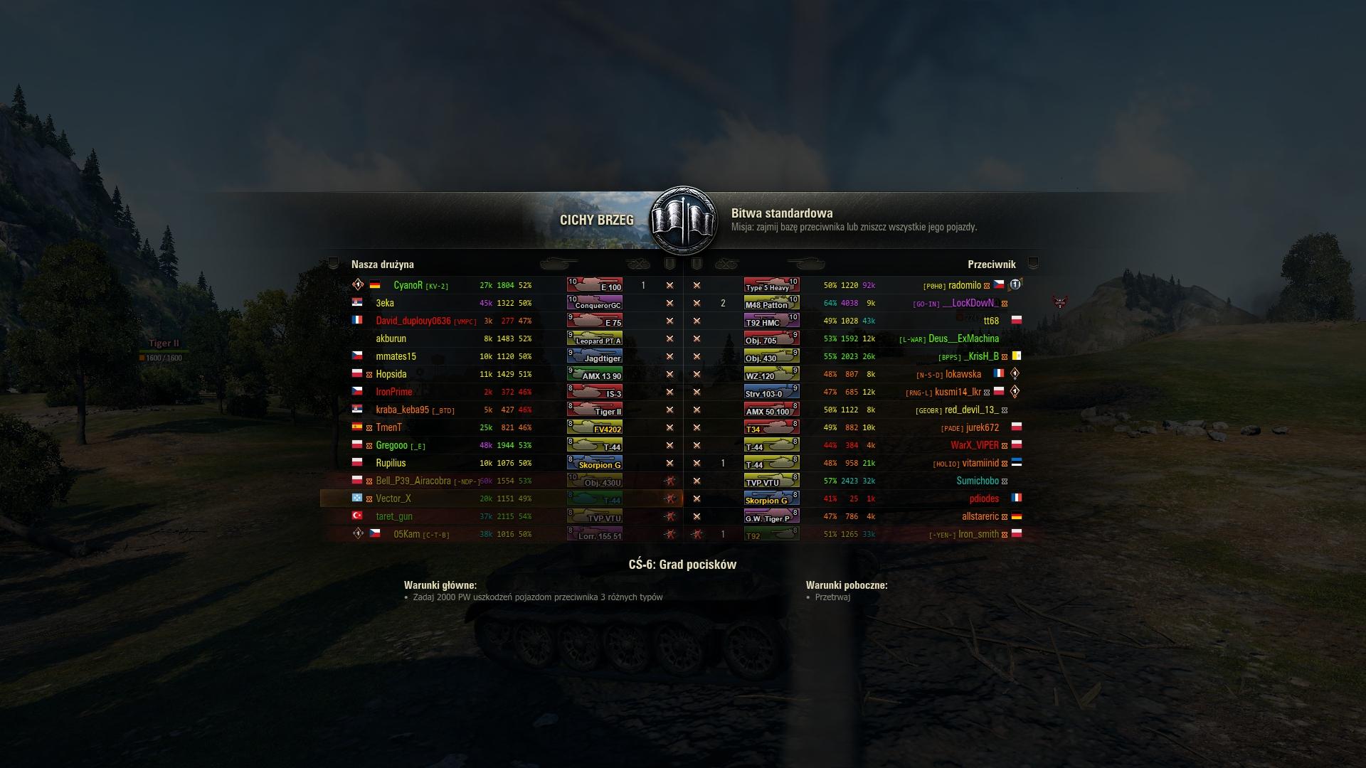matchmaking mod wot