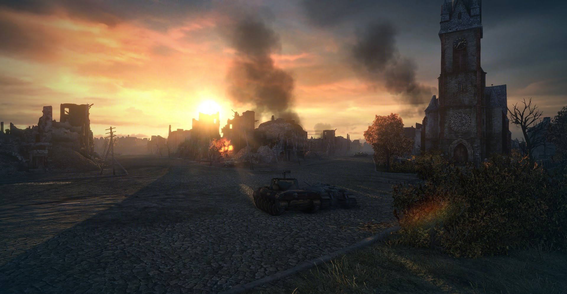 Ruinberg on Fire - Gameplay - World of Tanks official forum