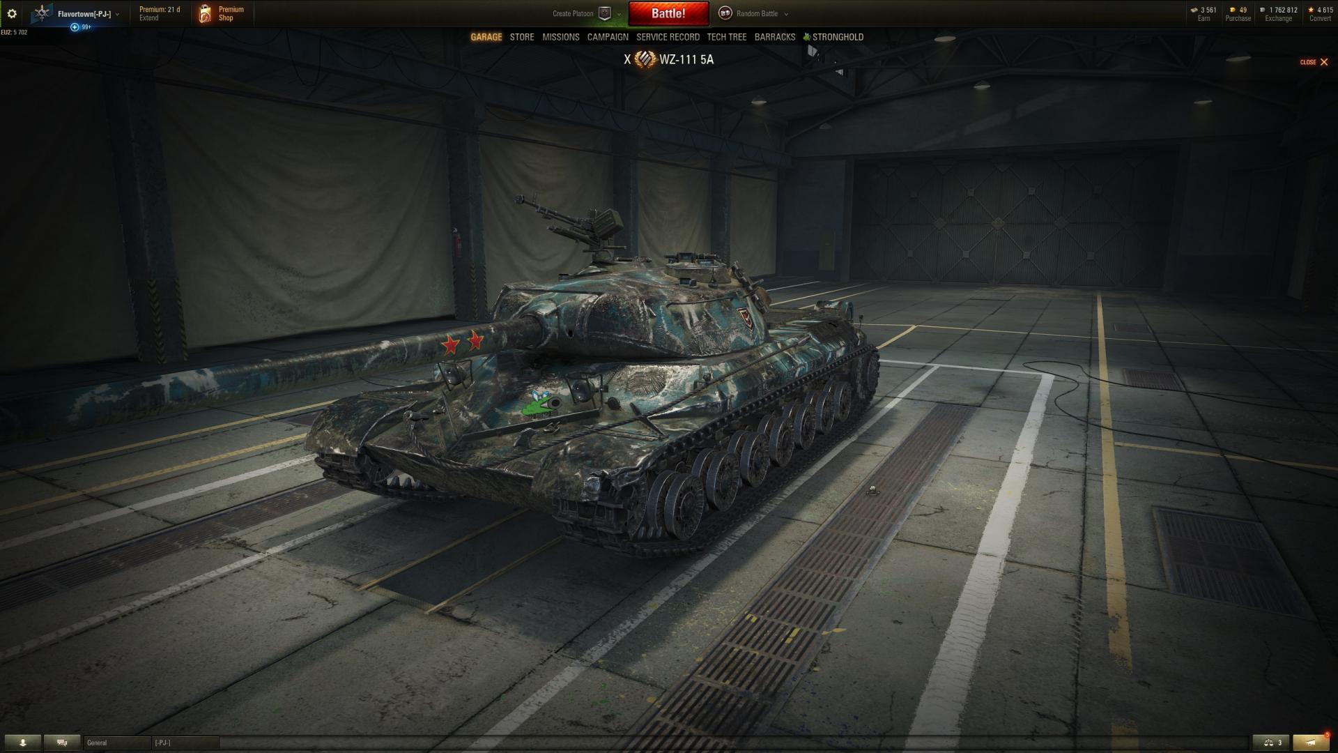 How does Lightning camo look on different tanks? - Gameplay - World