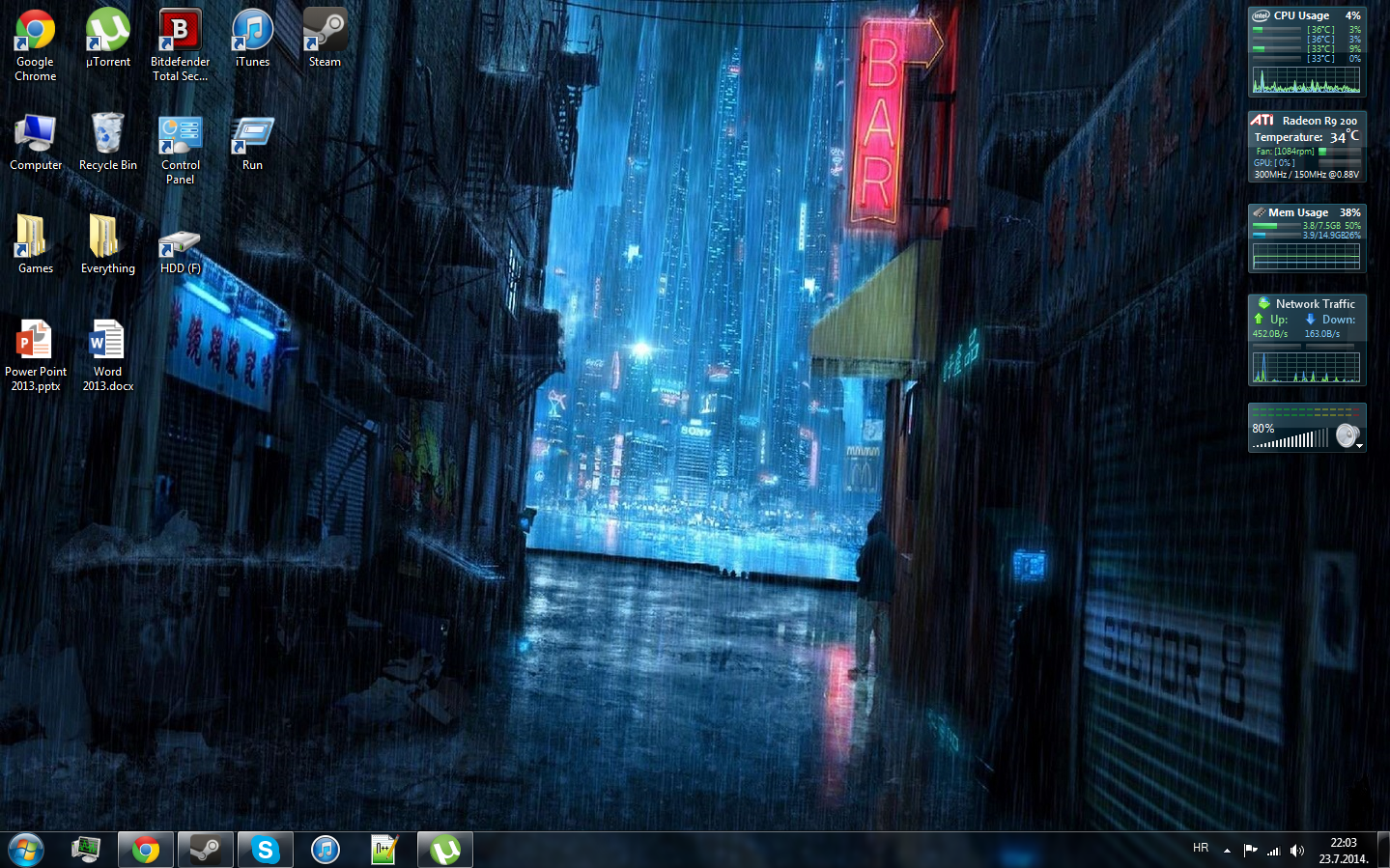 What Does Your Desktop Look Like? - Off-Topic - World of