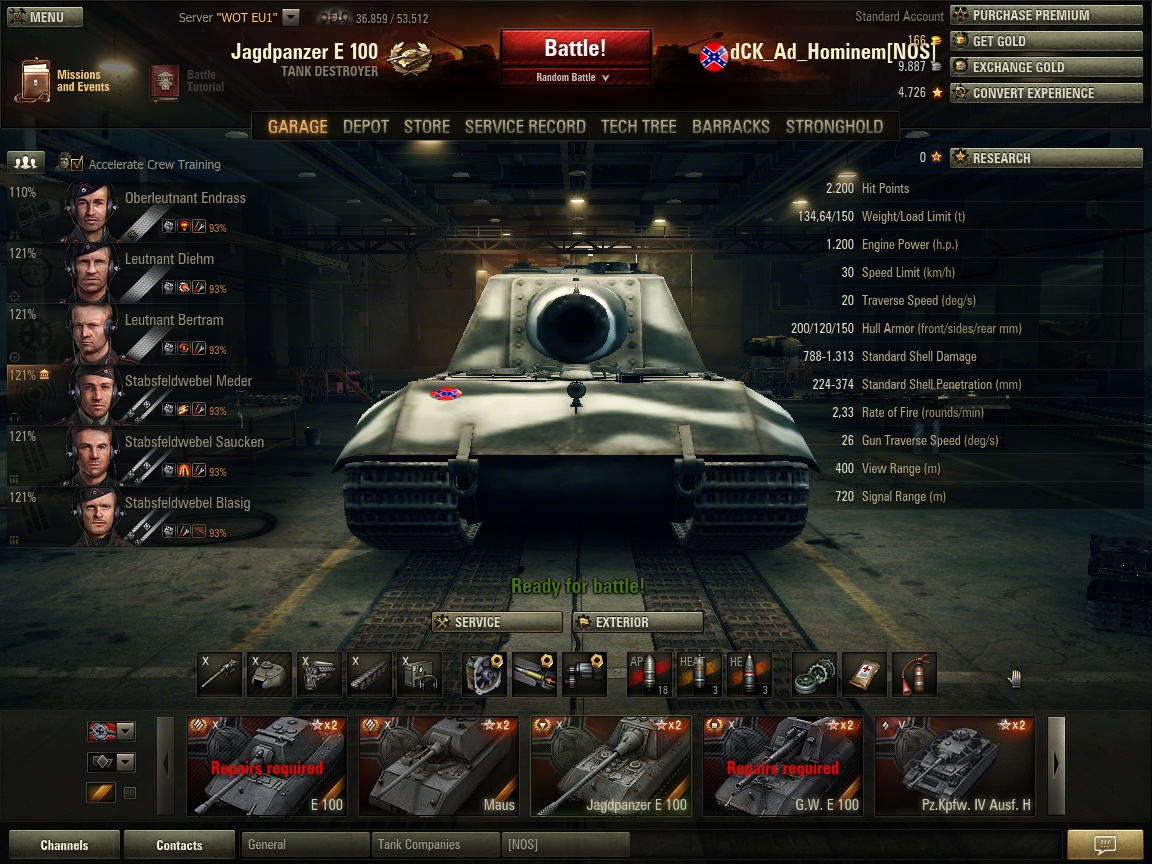 How to play the Jagdpanzer E100 - a guide - Tank ...