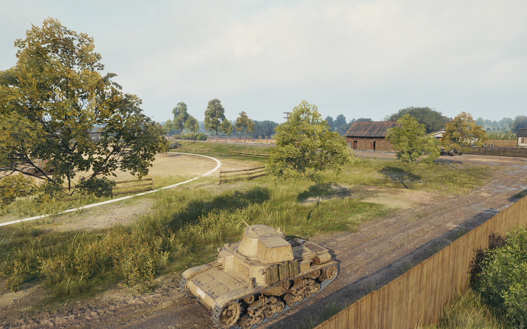 Trees have no trunks O_o - Tech Corner - World of Tanks official forum