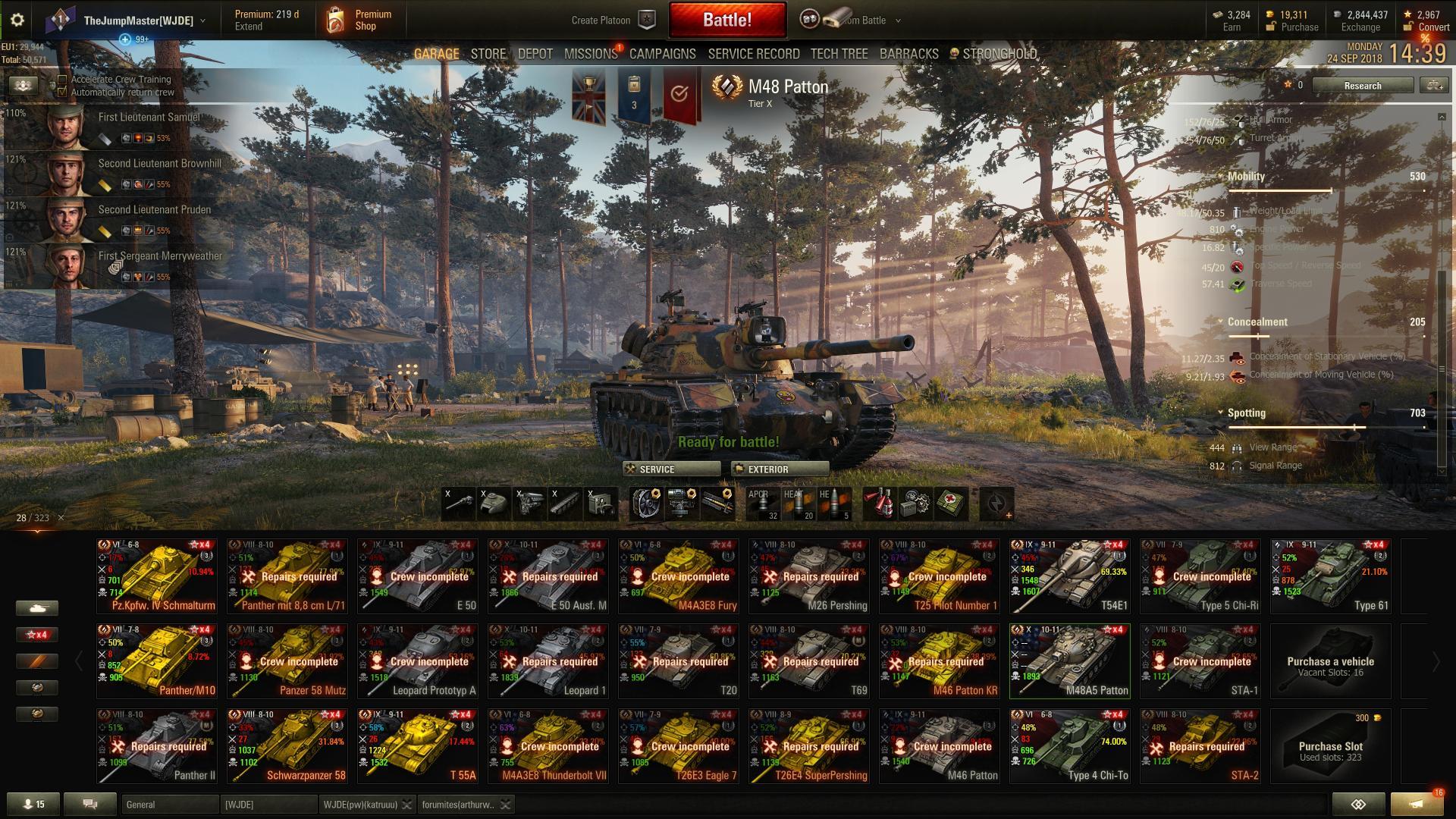 M48 Patton - Gameplay - World of Tanks ...