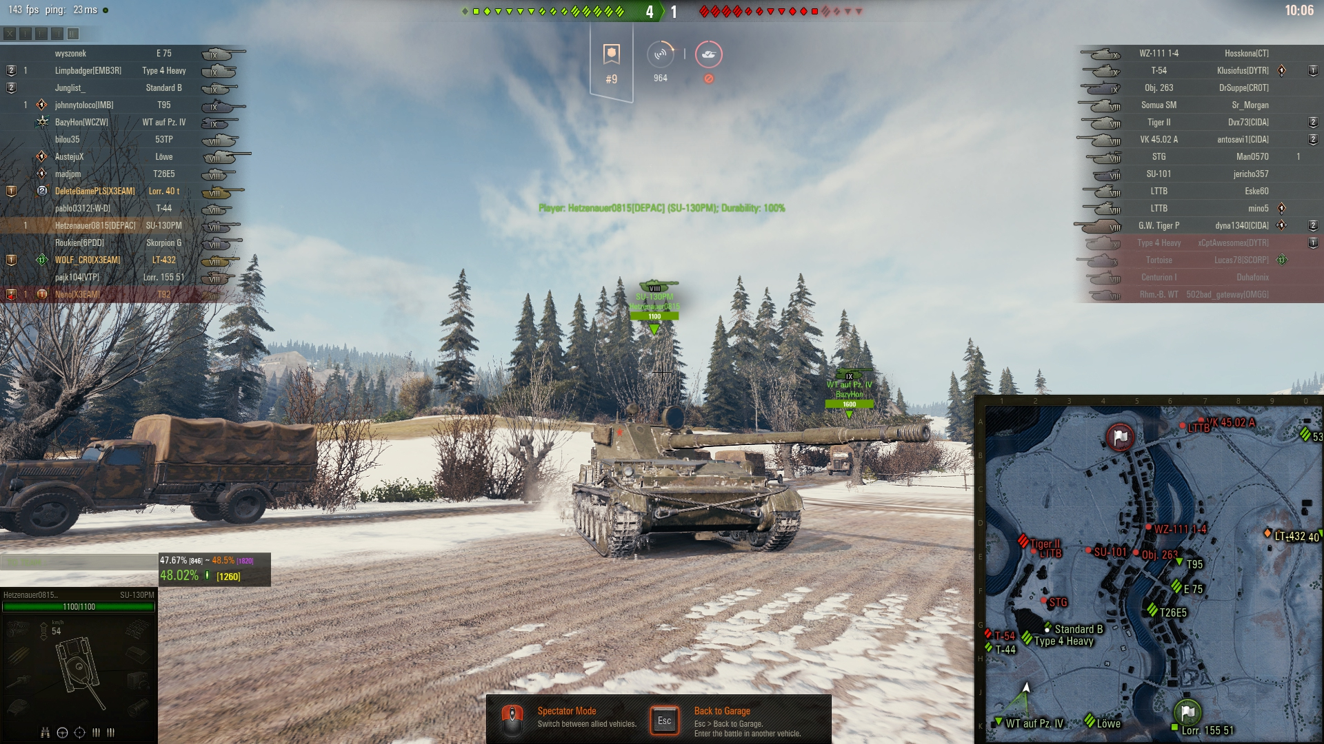 A wild SU-130PM appears in randoms - Gameplay - World of
