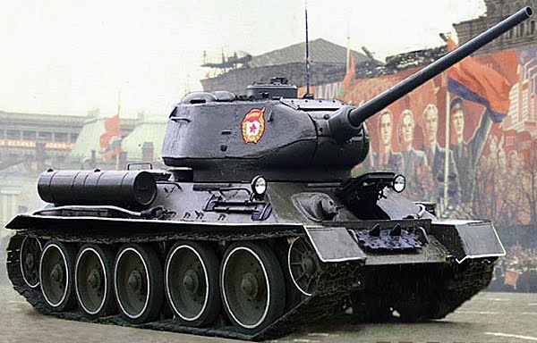 Легендарный танк Т-34-85 отмечает юбилей - Разговоры тут ...
