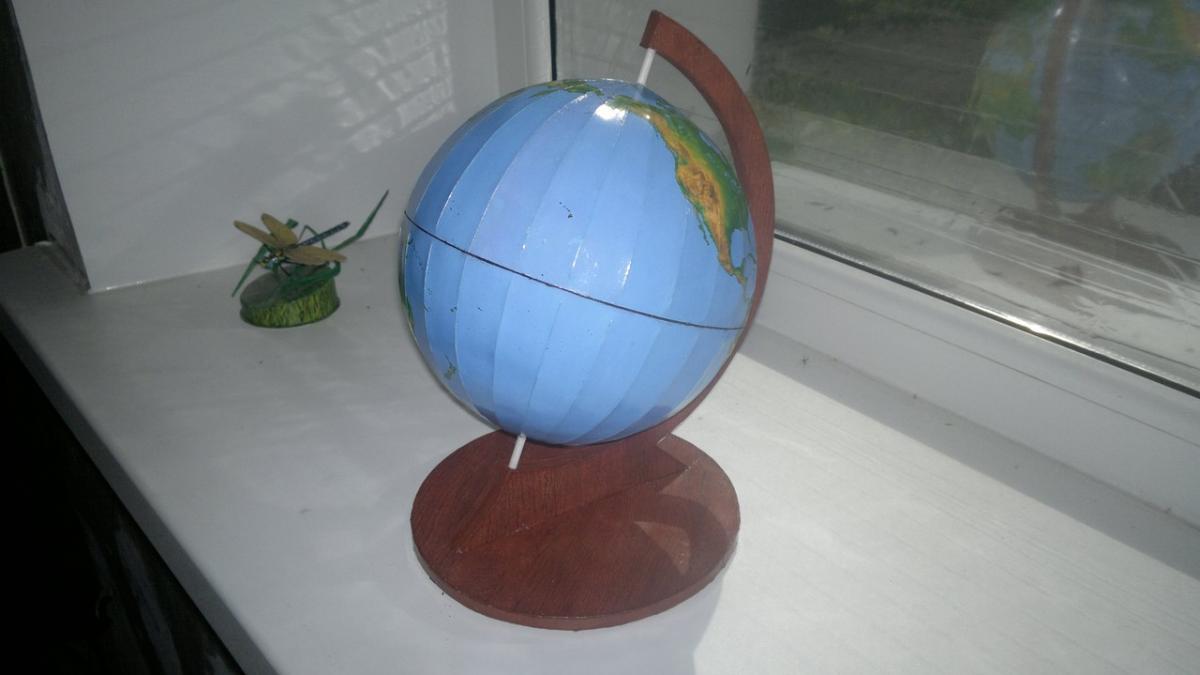 Как сделать глобус домашних условиях