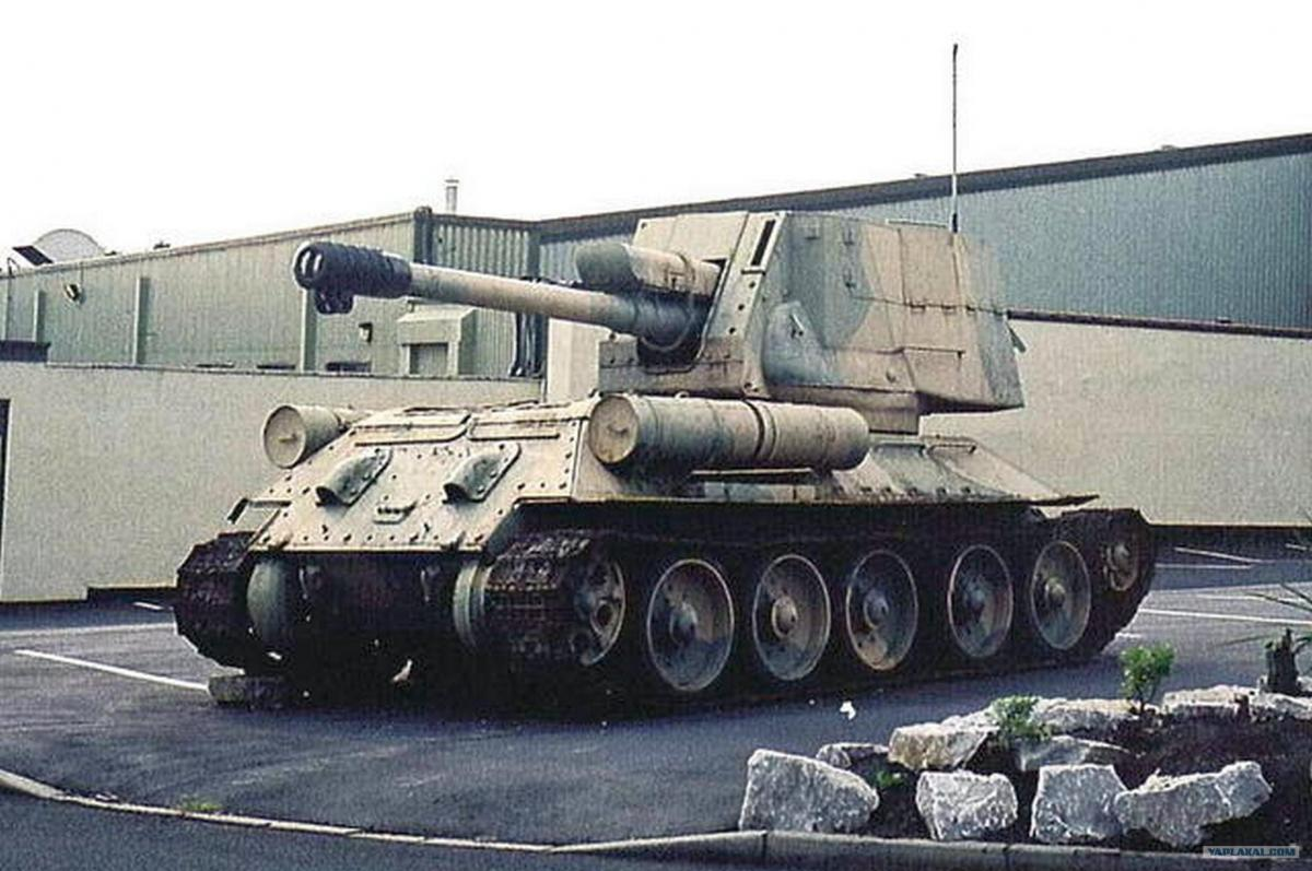 Нашел два танка модификация Т34-85. - Военная техника ...