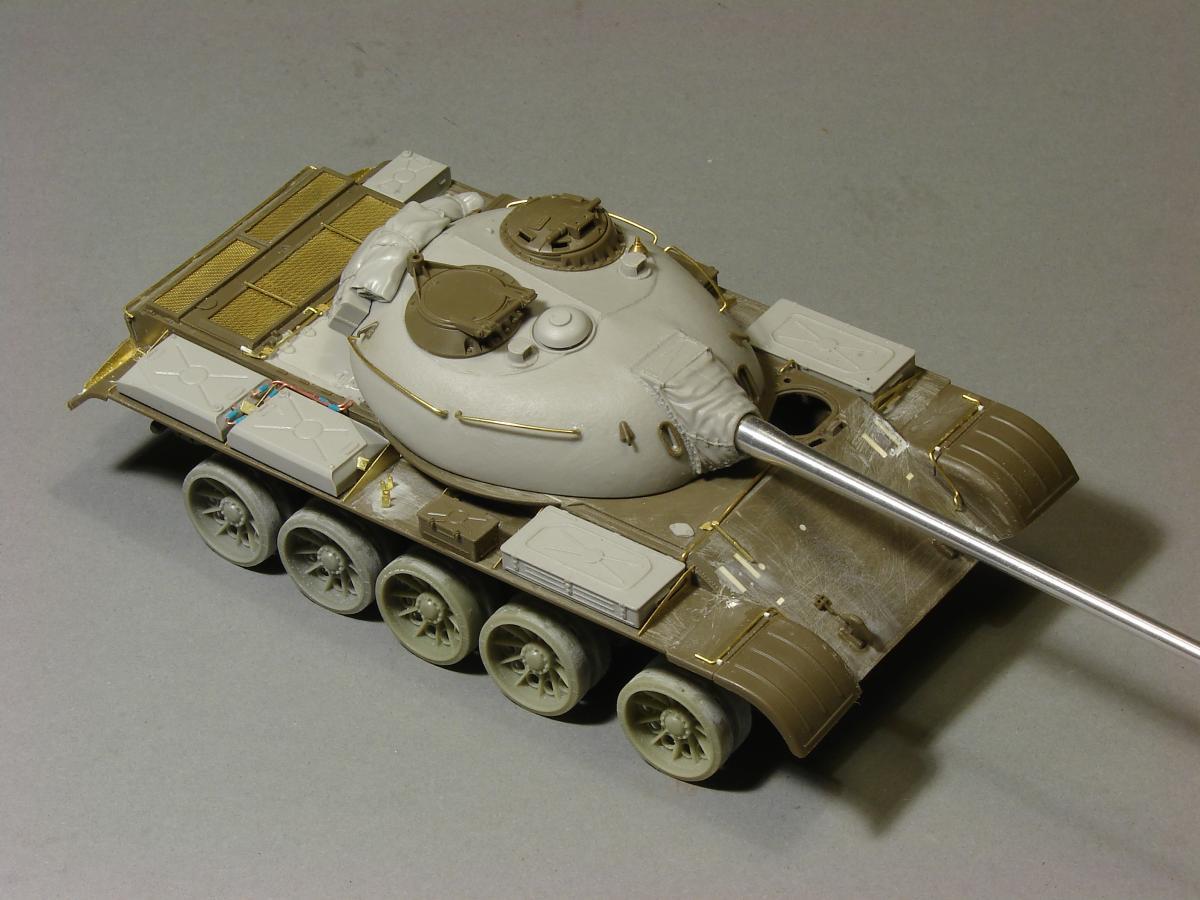 Tamiya 35257 russian medium tank t-55a, 1/35