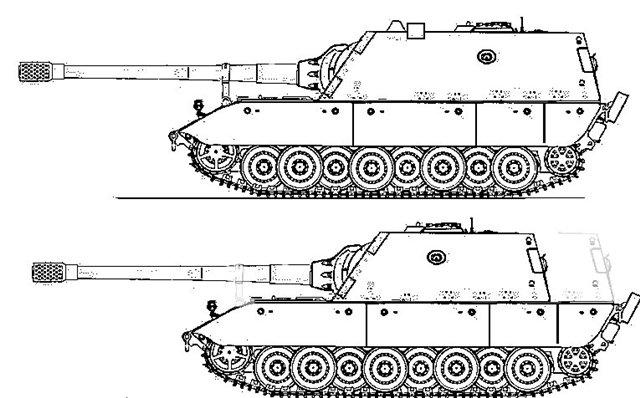L/61(стоит на Jagdtiger)