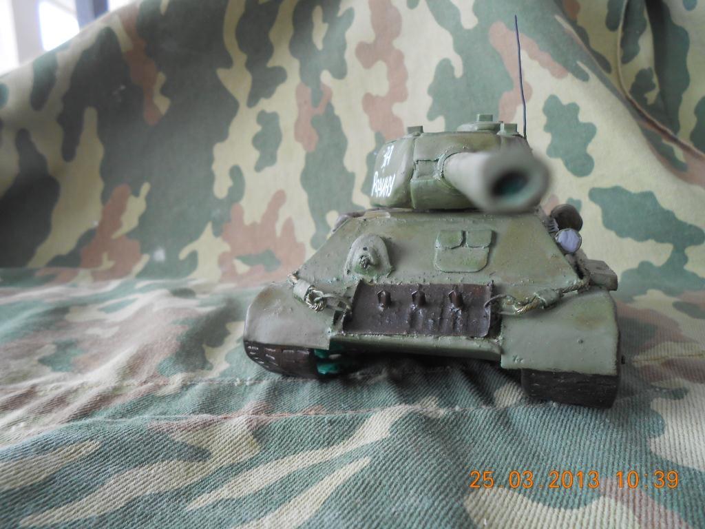 Так т-34 модель своими руками 71
