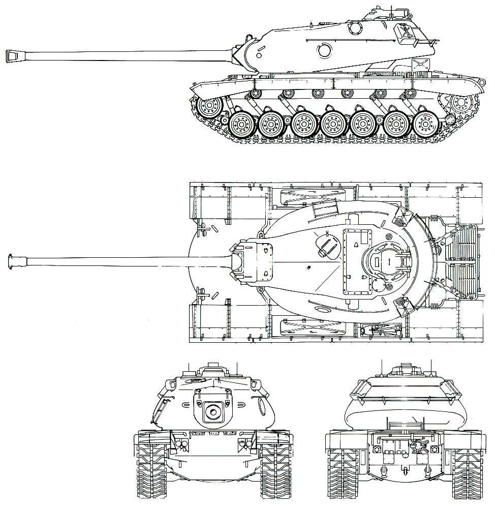 очень схема башни танка т29 если хотите