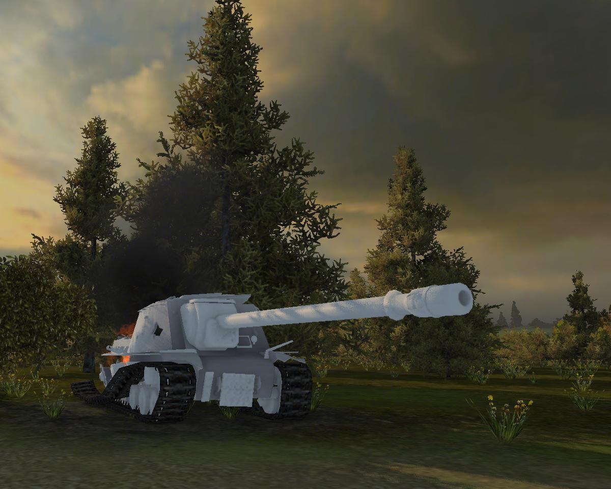 Белые трупы танков wccc 2 6