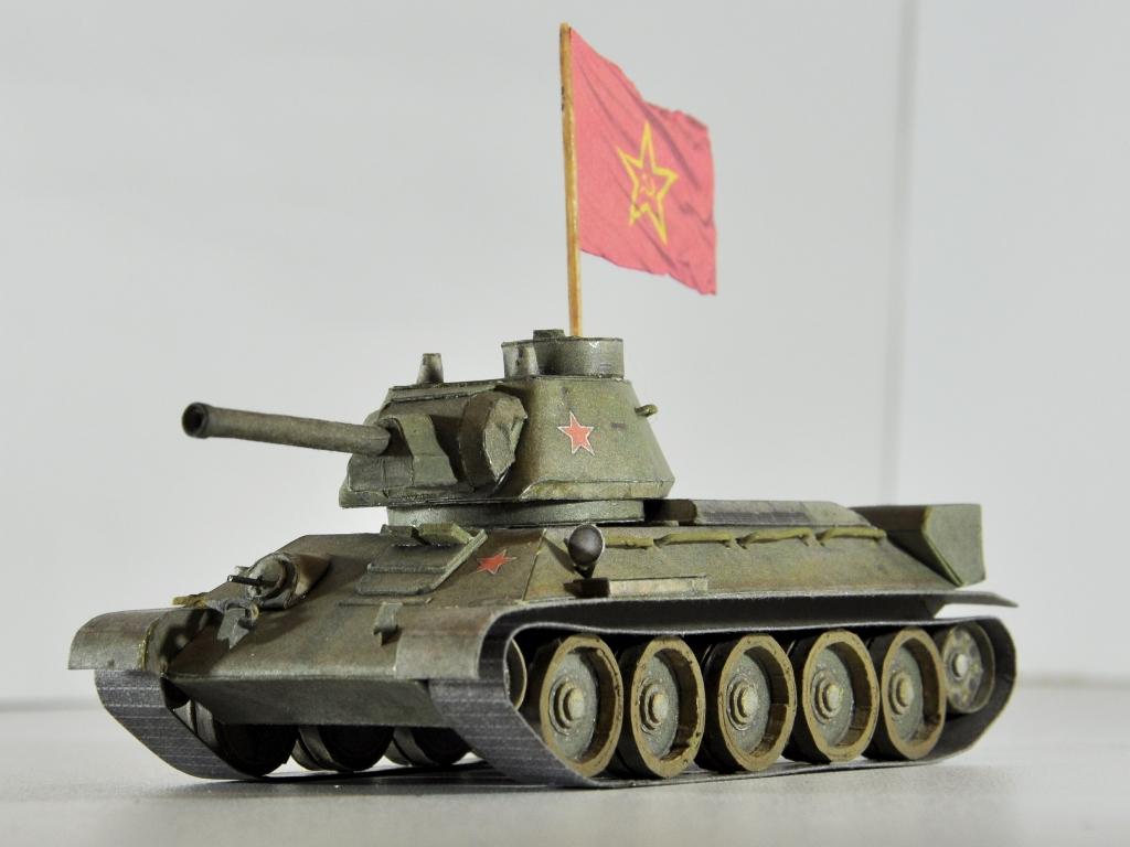Макет т-34 своими руками 46