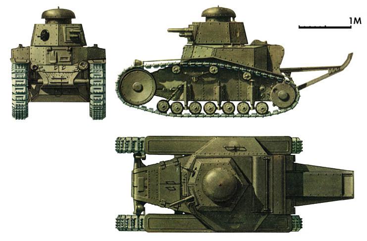 серийных советских танков