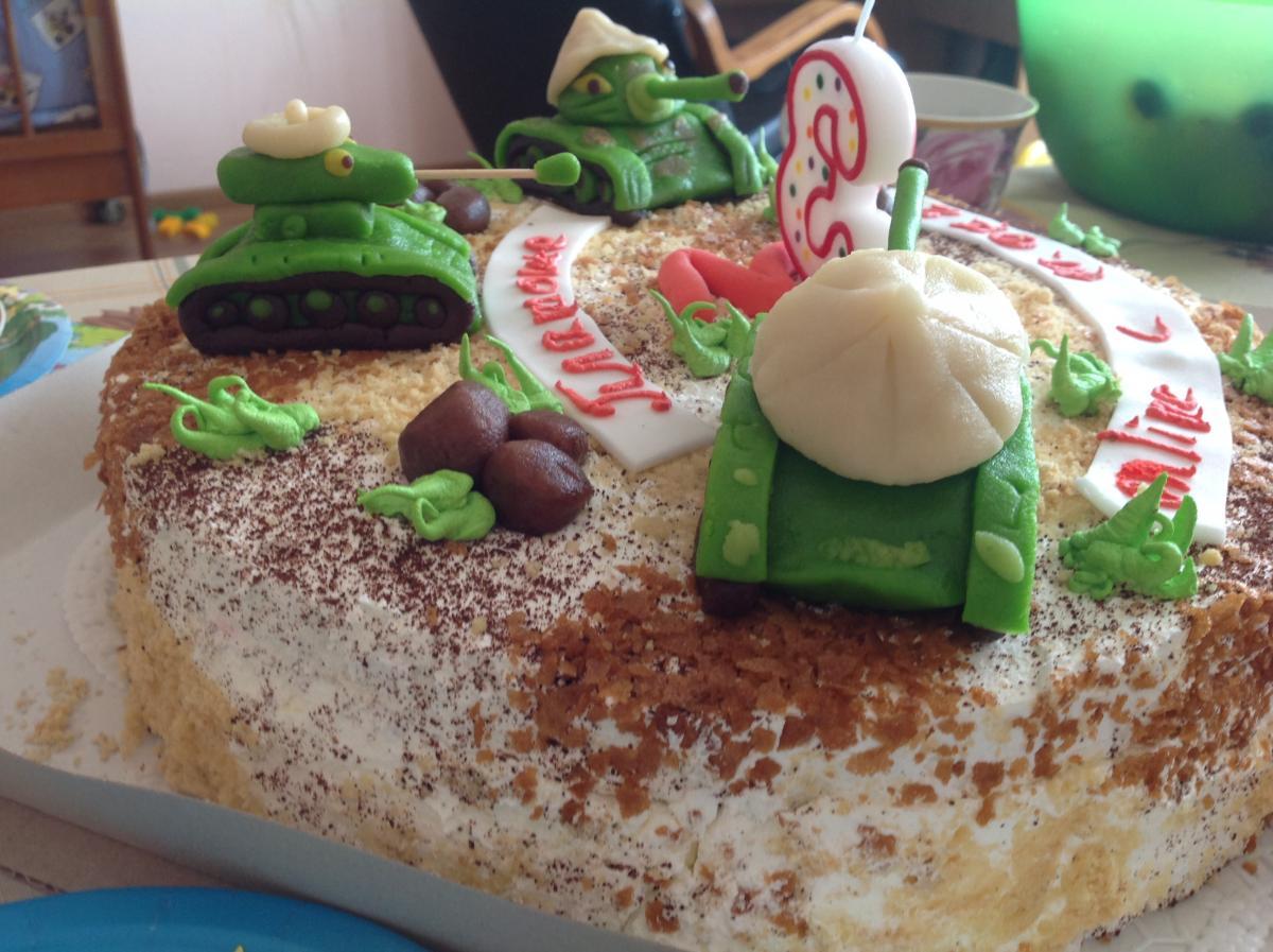 Торт для мальчика на День Рождения 13-15 лет - Торты