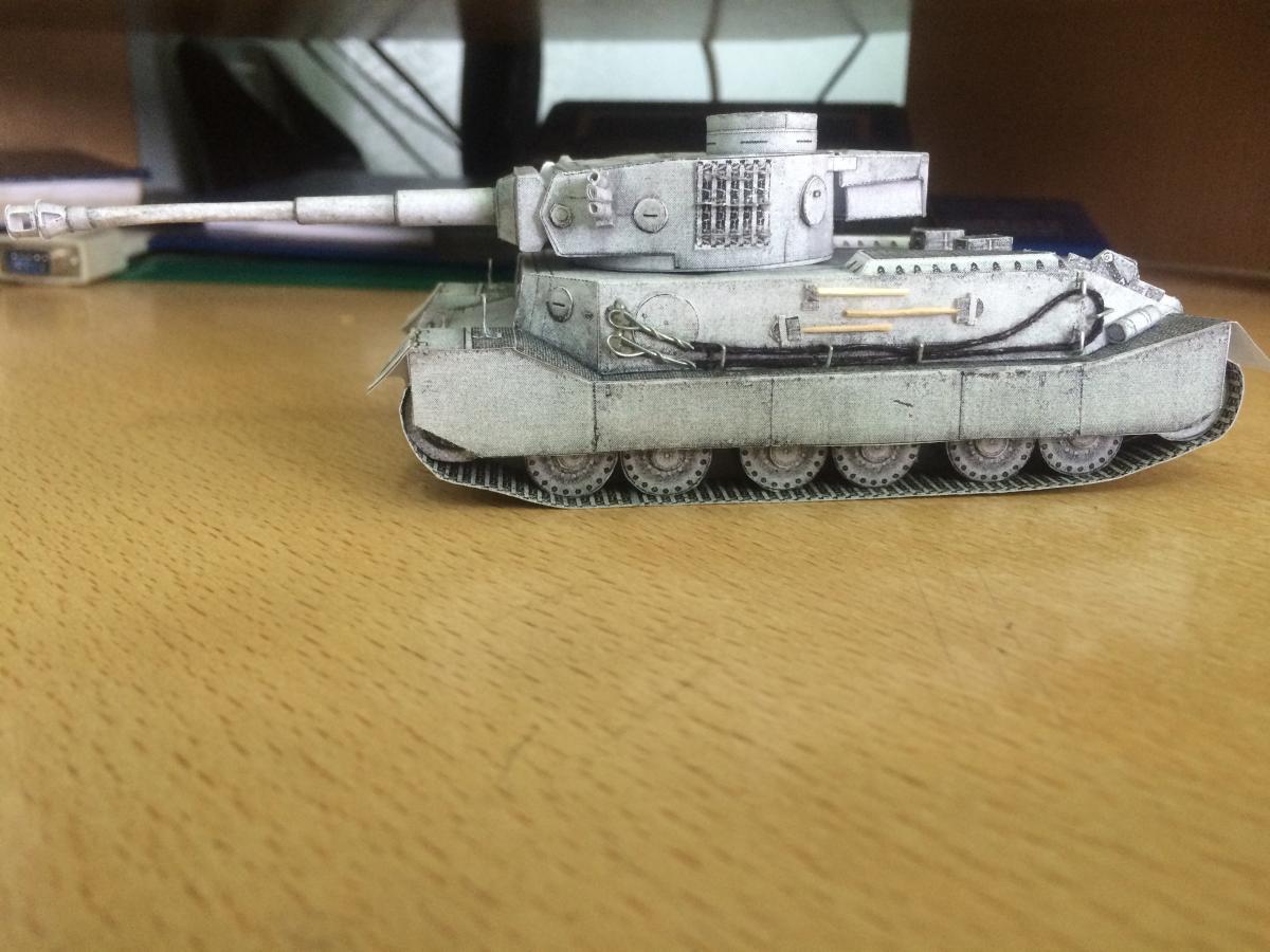 Собственный бумажный танк. Как сделать танк из бумаги 69
