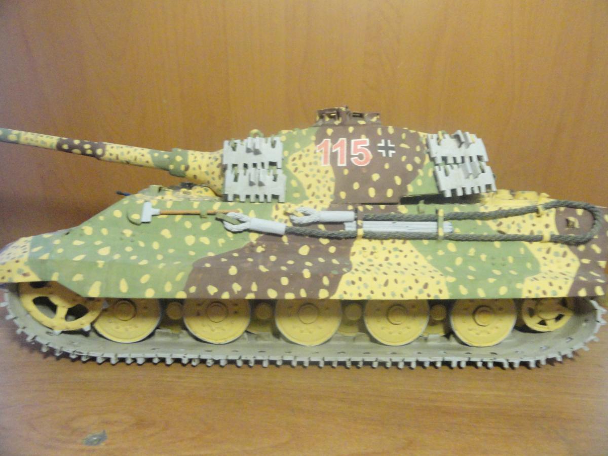 Как сделать домашний танк