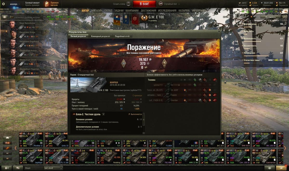 Ссылку на процент попаданий в игре world of tanks