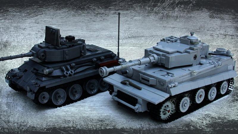 Танки из конструктора Lego - Моделизм - Официальный форум игры...